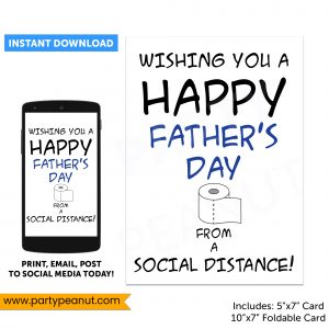 Fathers Day Toilet Paper Social Distance