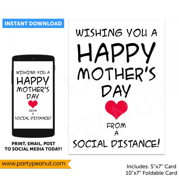 Mothers Day Social Distance